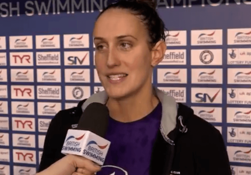 Georgia Davies on 50 Back Title: I was Hoping to go a Tiny Bit Faster