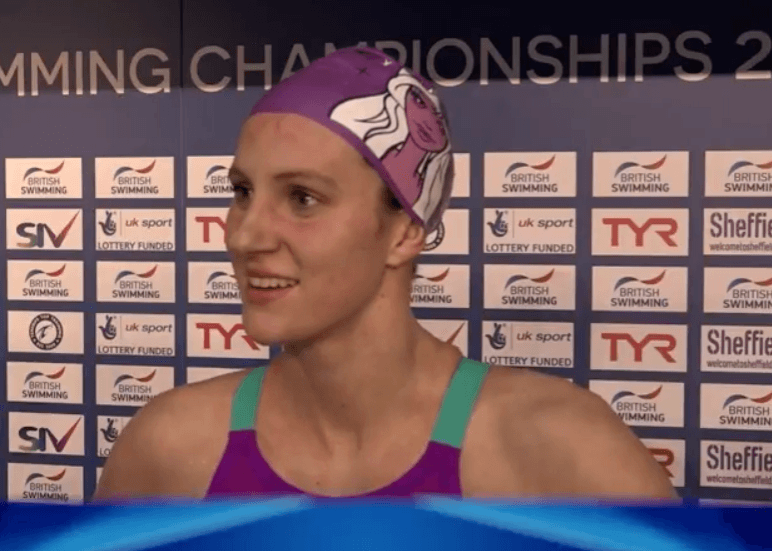 "Jazz Carlin: ""It's Great To Be Back After Rio"""
