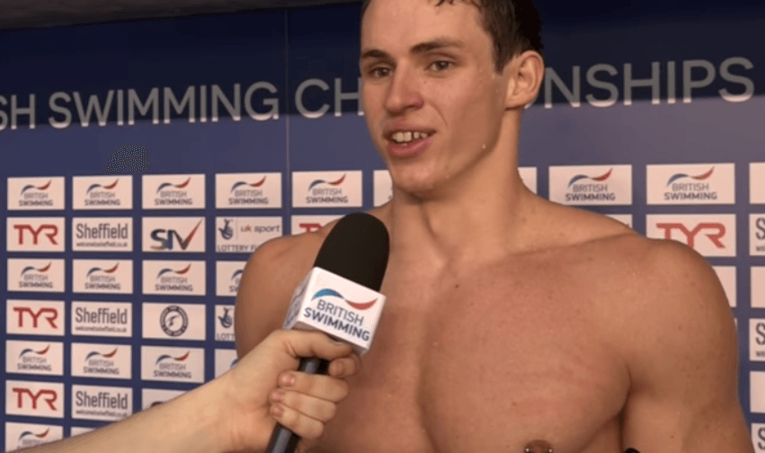 Watch Ben Proud Scorch 22.80 50 Fly British Record