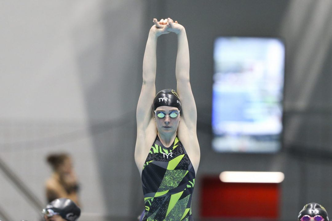 Hannah Stevens Becomes 10th-Best U.S. Performer with 59.40 100 Back