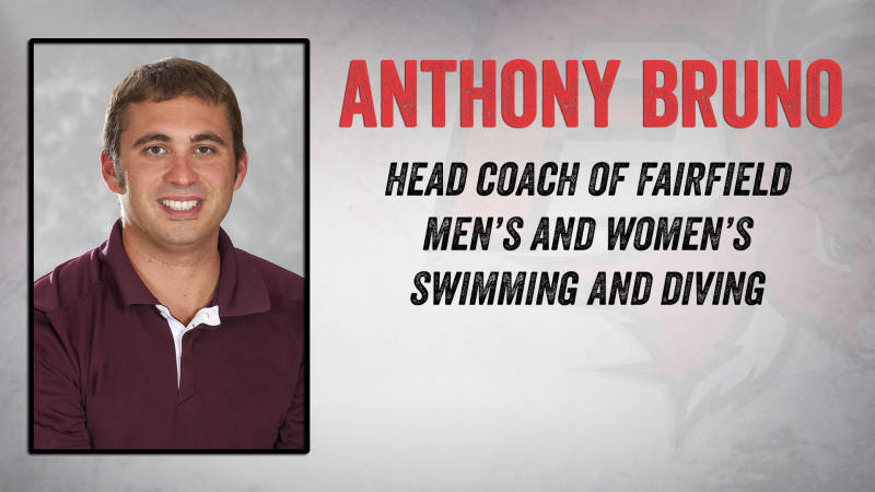 Anthony Bruno Named Fairfield Head Swim & Dive Coach