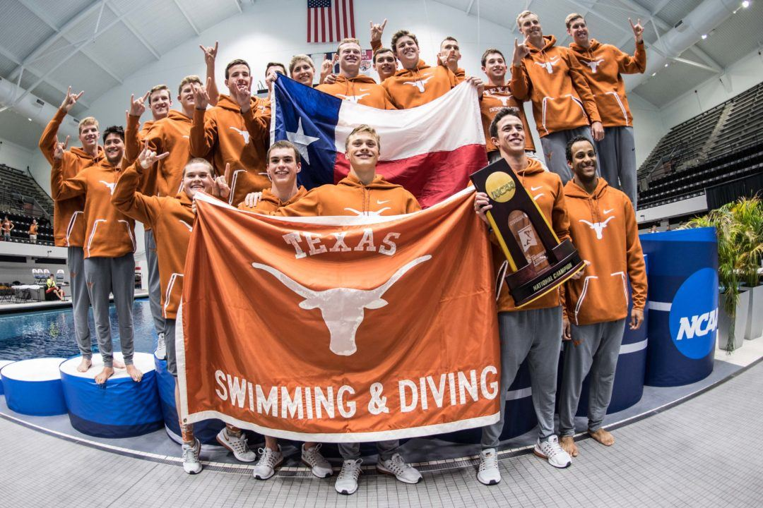 Texas Men Add Third Diver On Day 2 of Zone D