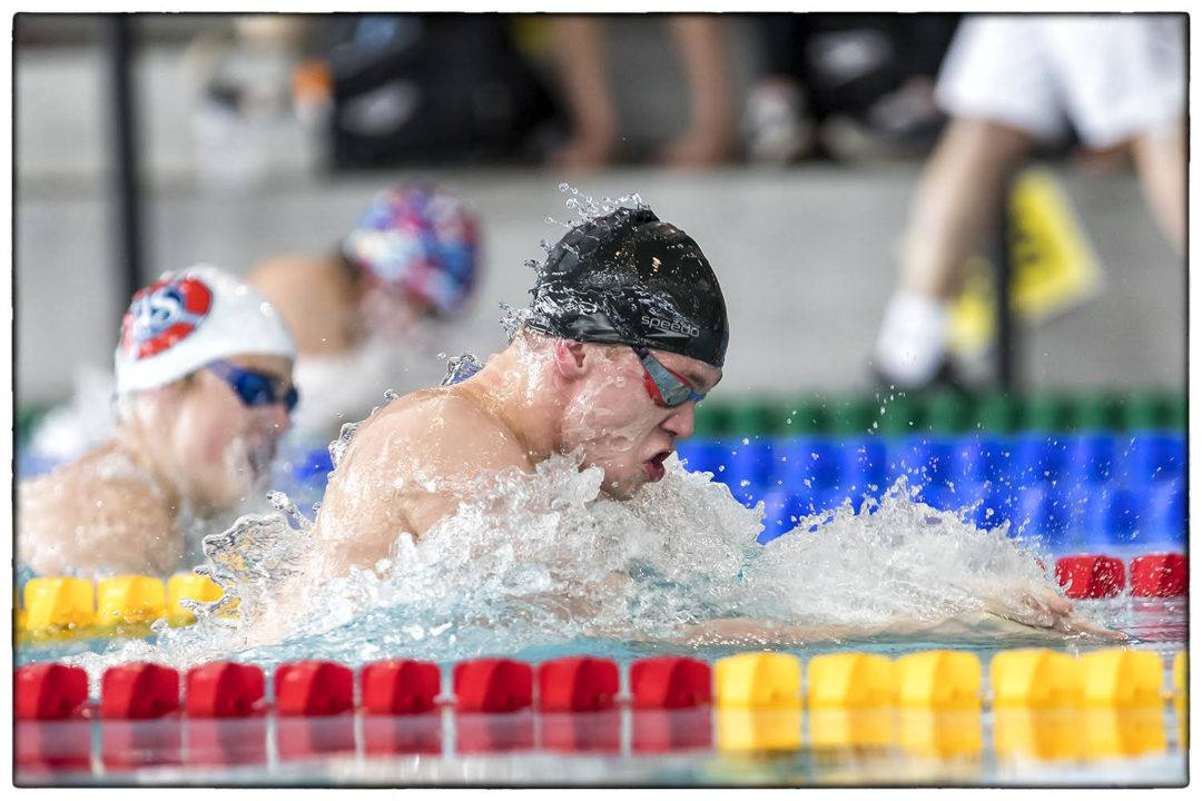 Philip Greve Sets NR, Anton Ipsen Wins 4IM at Danish Nationals Day 1