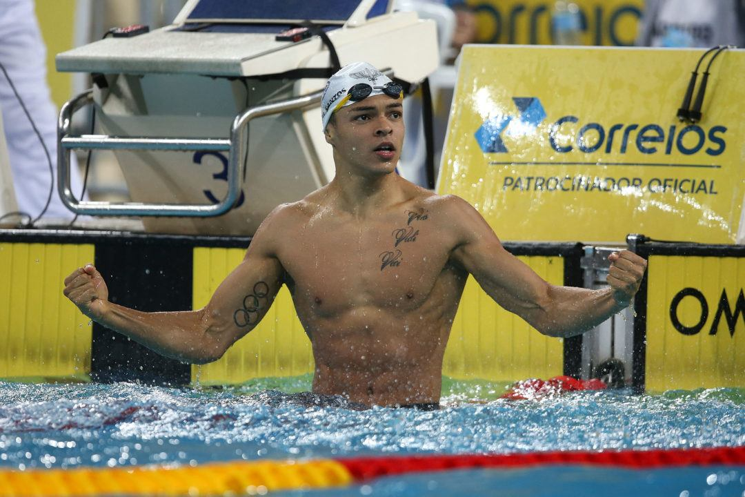 Brazilian Sprinter Gabriel Santos Tests Positive for Anabolic Steroid
