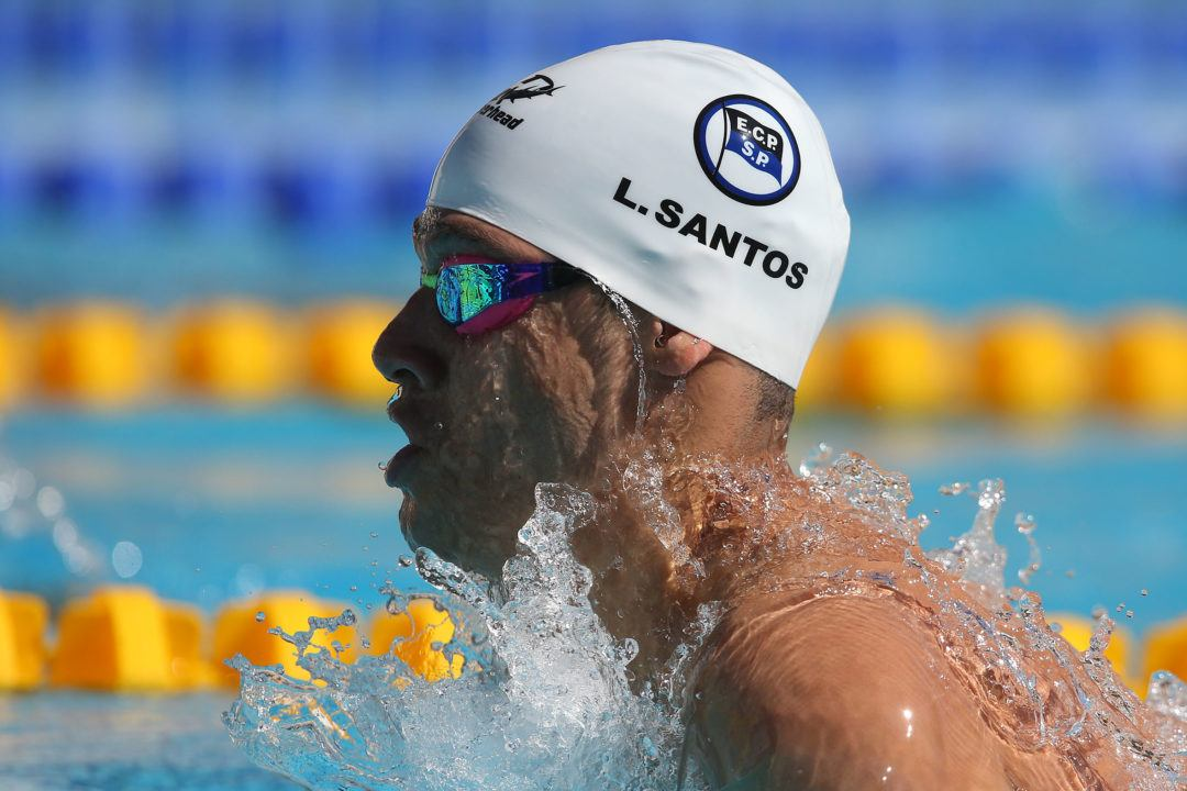 Iron's Leonardo Santos Sets New South American Record In 200 IM
