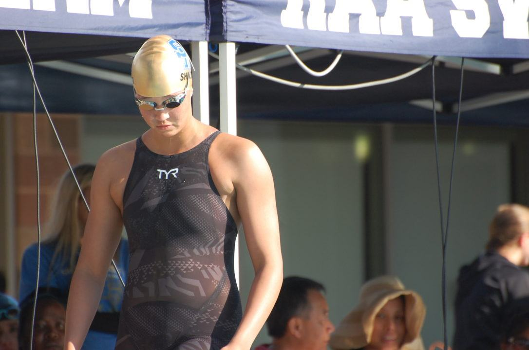 Samantha Shelton Blasts 1:44.0 200 FR at CIF SS D1 Champs