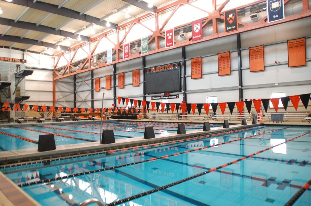 Princeton women announce 2017 18 tri captains for Deans high school swimming pool
