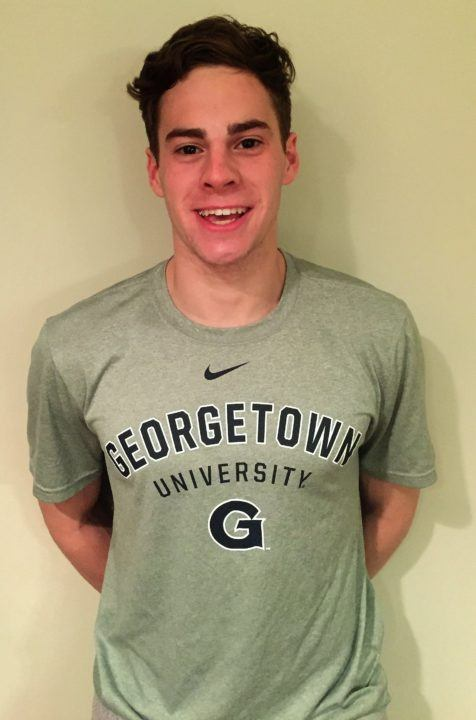 Nate Goldfarb of Ohio State Swim Club Commits to Georgetown