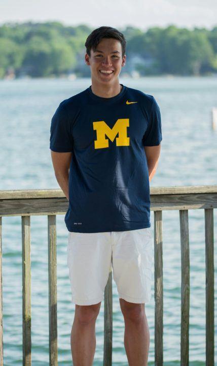 North Carolina Record-Holder Will Chan Verbally Commits to Michigan
