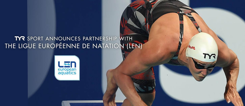 TYR Sport Announces Partnership With The Ligue Européenne de Natation