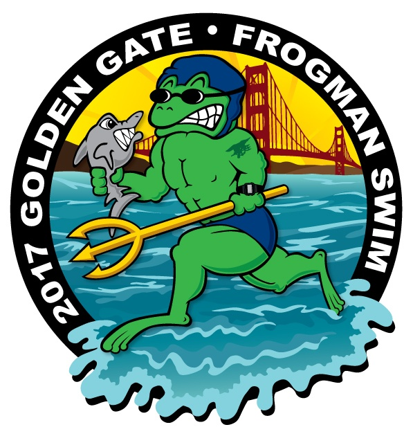 Inaugural Golden Gate Frogman Swim On August 6