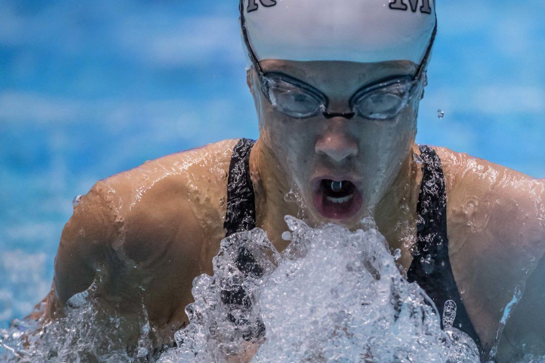 Abby Arens, Eli Fouts Impress In 100 Breast At Day 2 NCSA Prelims