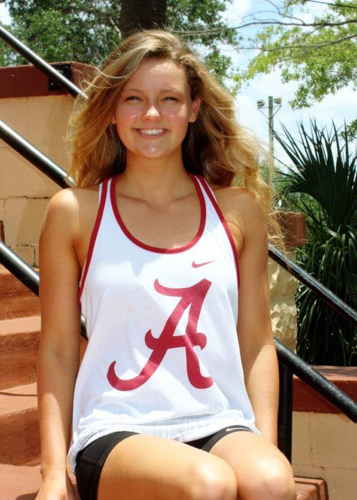 BSS Distance Freestyler Kensey McMahon Makes Verbal Commitment to Alabama