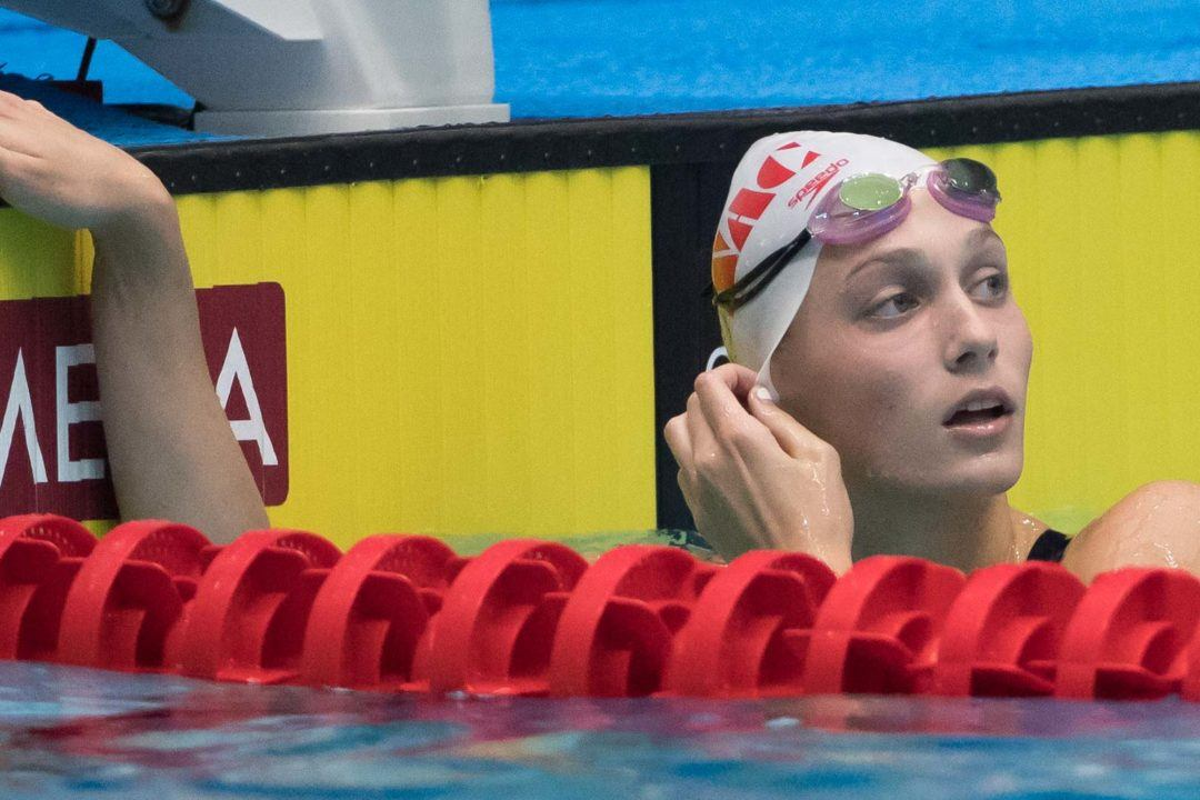 WATCH: Walsh Sisters & NAC Better NAG Record in 800 Free Relay