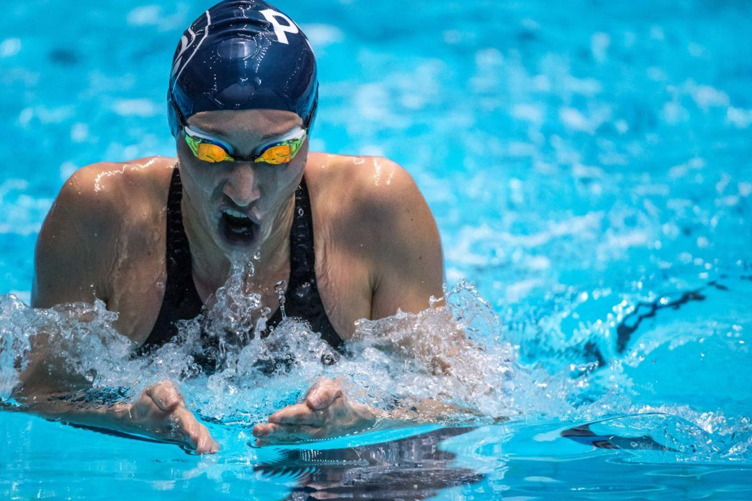 Ally McHugh Becomes No. 6 All-Time American in 400 IM – 	4:34.80