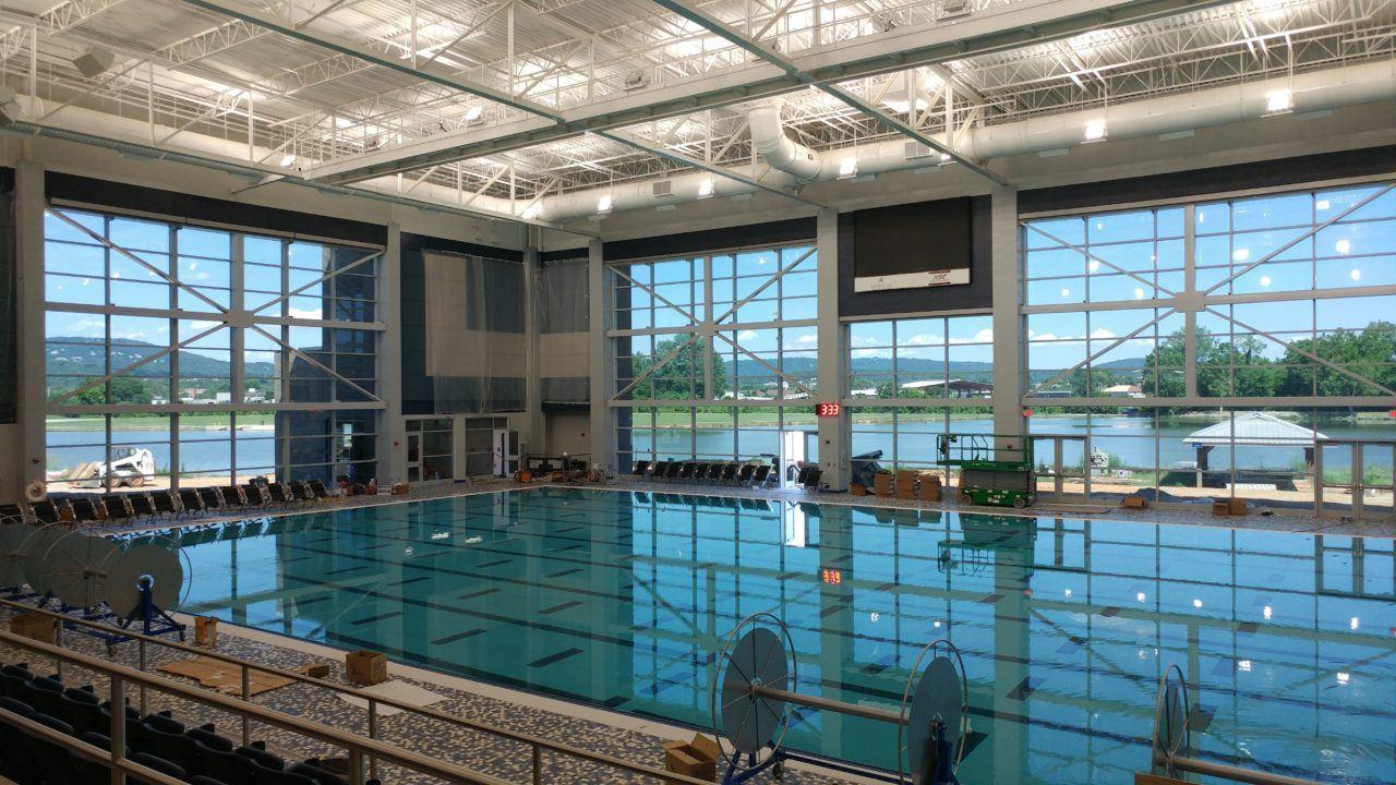 Huntsville Aquatic Center Opens New Pool For City Meet