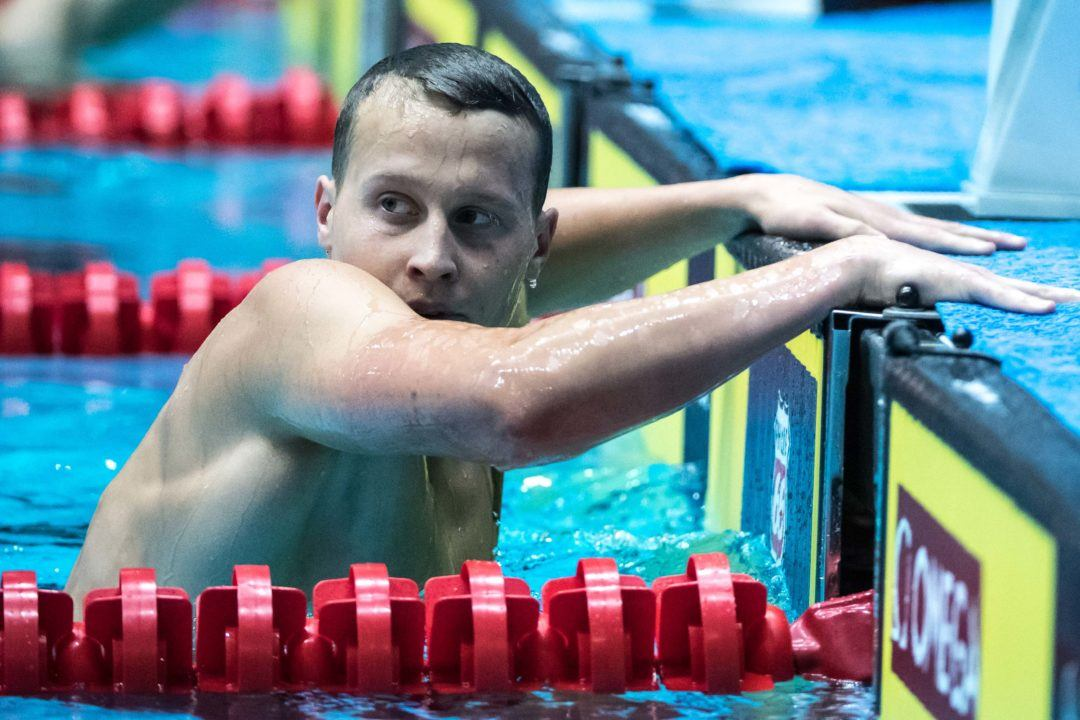 NC State's Ress, Molacek Scratch Prelim Swims; Likely to Swim All 5 Relays