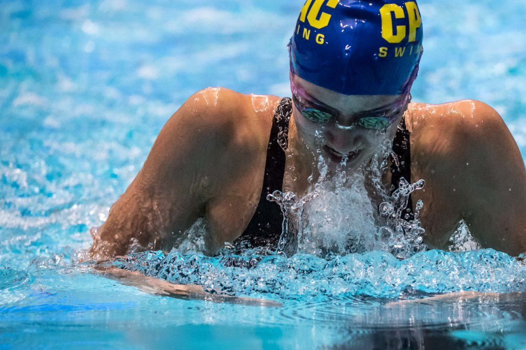 Kate Douglass Goes Another Best at UT Invite: 2:06.19 in 200 Breast