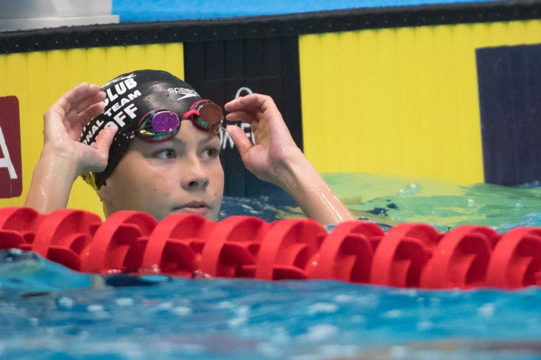 Katharine Berkoff Jumps to 9th in Age Group History at Washington Open