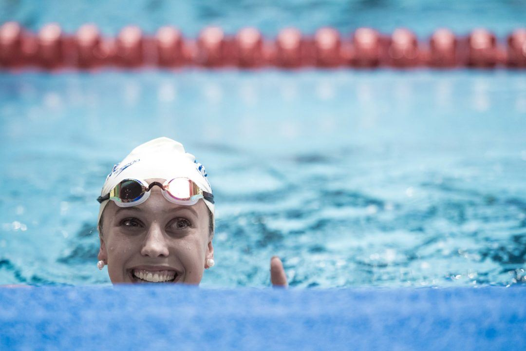 Kathleen Baker Torches 58.77 100 Back In Barcelona, World #3