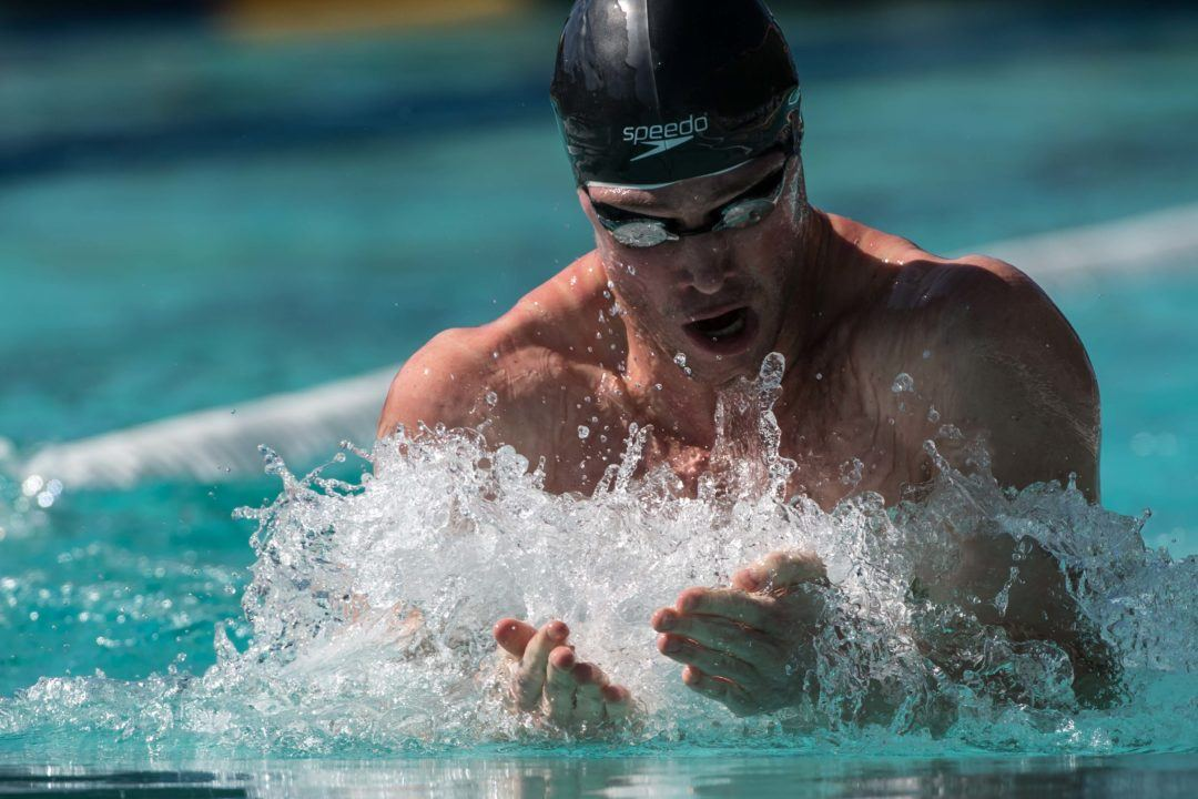 Kevin Cordes Becomes 2nd Fastest American Ever with 2:07.4 200 Breast