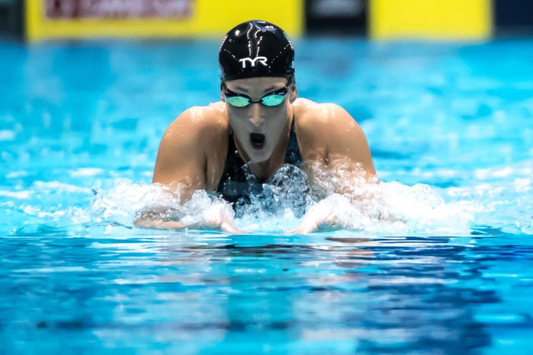 TYR Sport Signs Two-Time Olympic Medalist Leah Smith