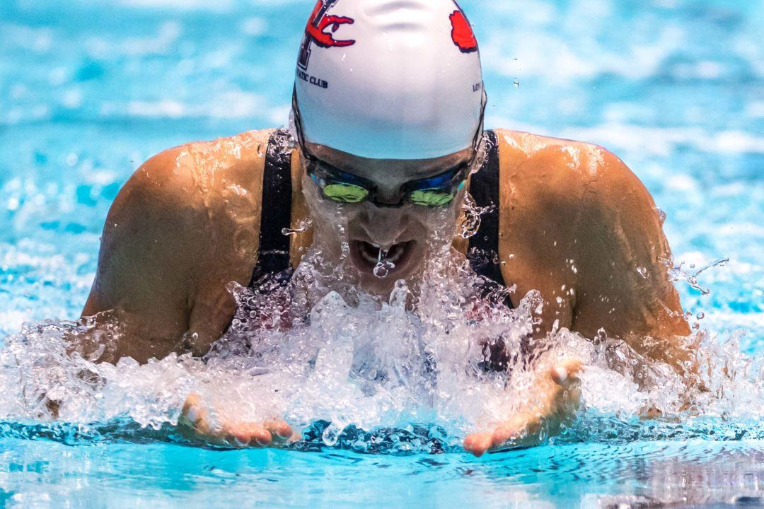 Top-Seeded Aroesty Scratches 100 Breast On Day 1 of Junior Nats