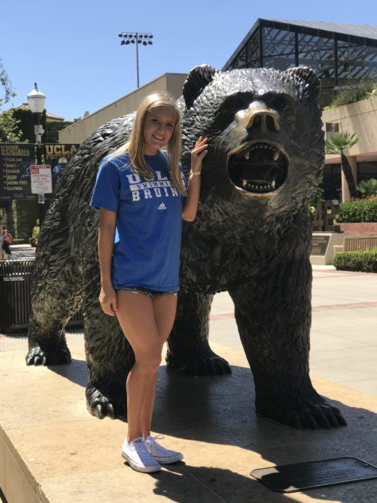 CIF-NCS Backstroke Champ Abriana Howard Verbally Commits to UCLA