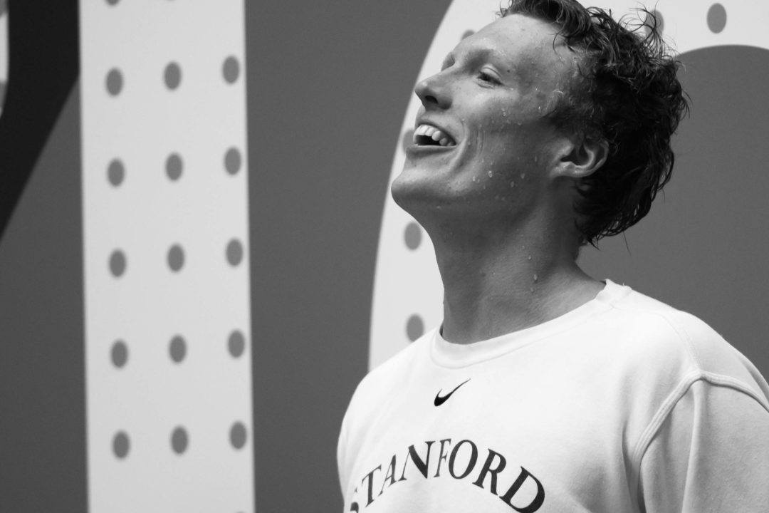 Stanford's DeVine Swims to #2 All-Time with 3:35.2 400 IM