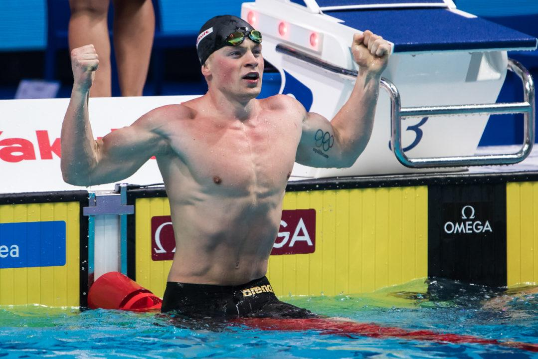 Adam Peaty Adds Name to Competitor List at 2018 Euro Meet
