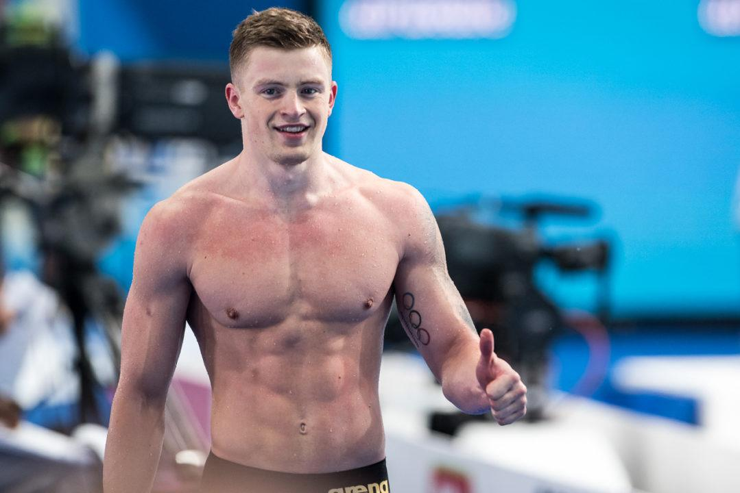 A Walk Through British Men's National Swimming Record History