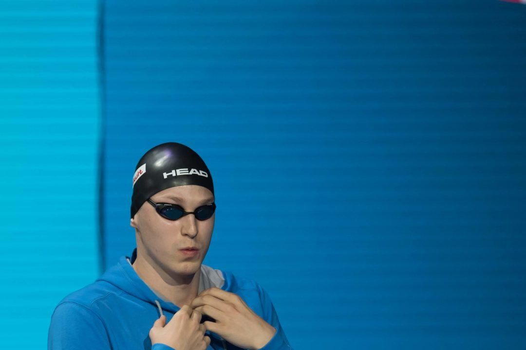 Andrii Govorov Swims 22.7 to Lead 50 Fly Semis in Monaco
