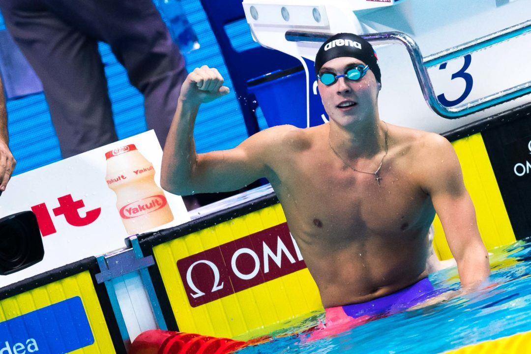 Chupkov With Another 2:07, C1 Clocks 52.7 100 Free To Close Kazan