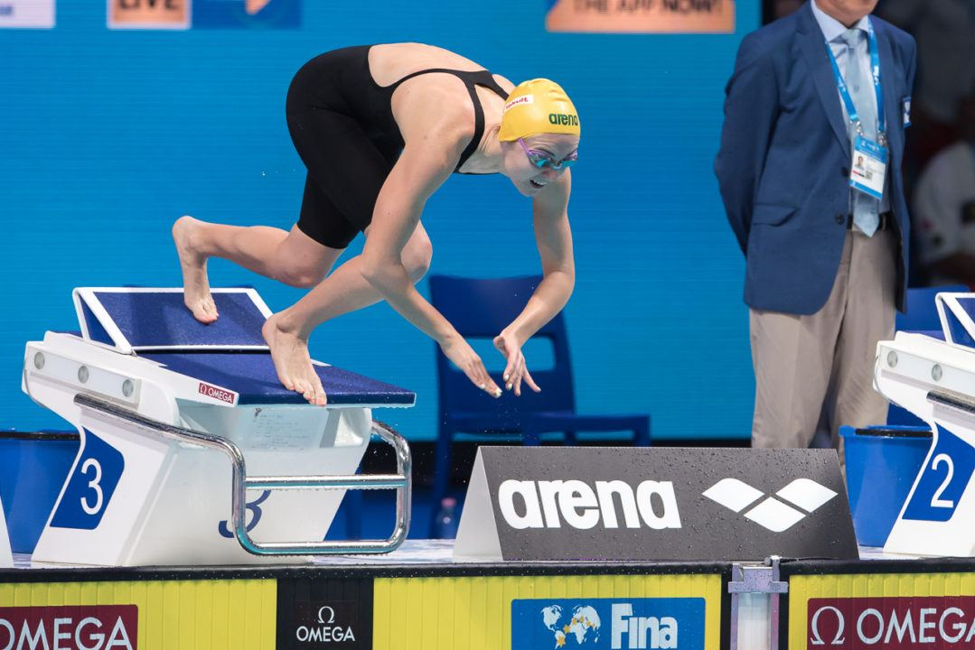 200 Free On Pan Pacs Chopping Block For Aussie Teen Ariarne Titmus