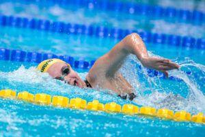 Australierin Ariarne Titmus kratzt am Weltrekord von Katie Ledecky