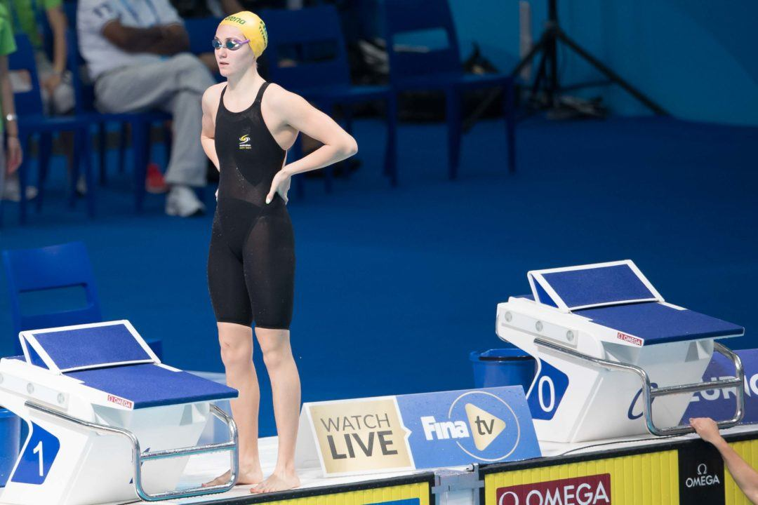 Ariarne Titmus No-Shows First Day of Australian Age Championships