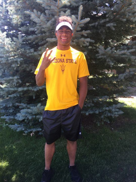 Colorado Breaststroker Elijah Warren Verbally Commits to Arizona State