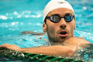 Bearded Blake Pieroni Compares 800 Free Relay Split & 200 Free (Video)