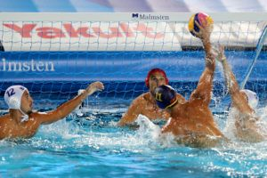 Men's Water Polo Day 2: Serbia, Montenegro, Japan and Greece Win Big