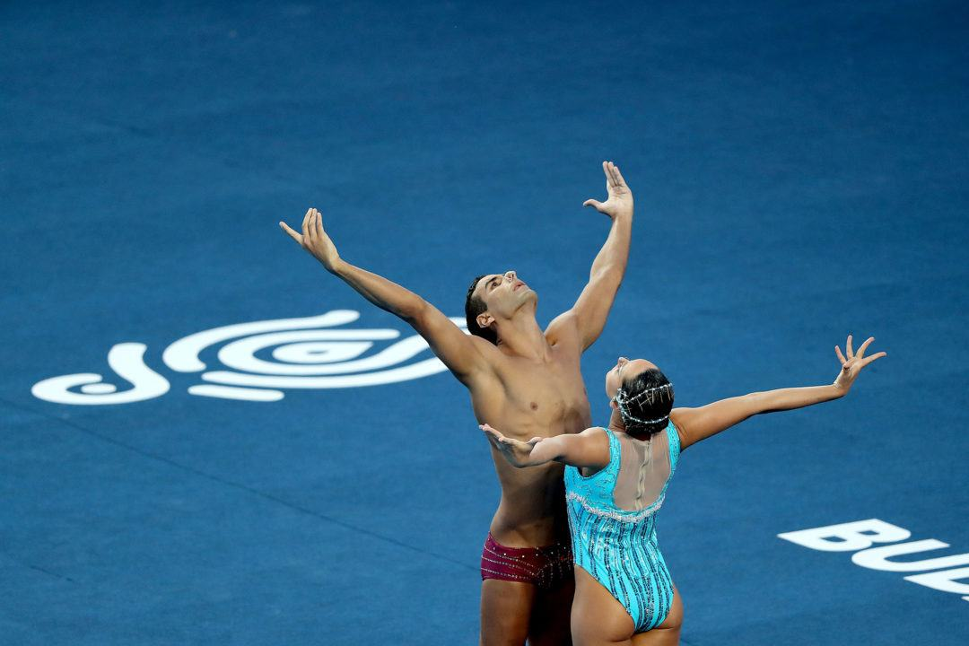 Russians Win Team Free Final, Qualify 1st In Mixed Duet Free