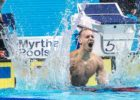 Caeleb Dressel Breaks American, NCAA Records In 100 Breast