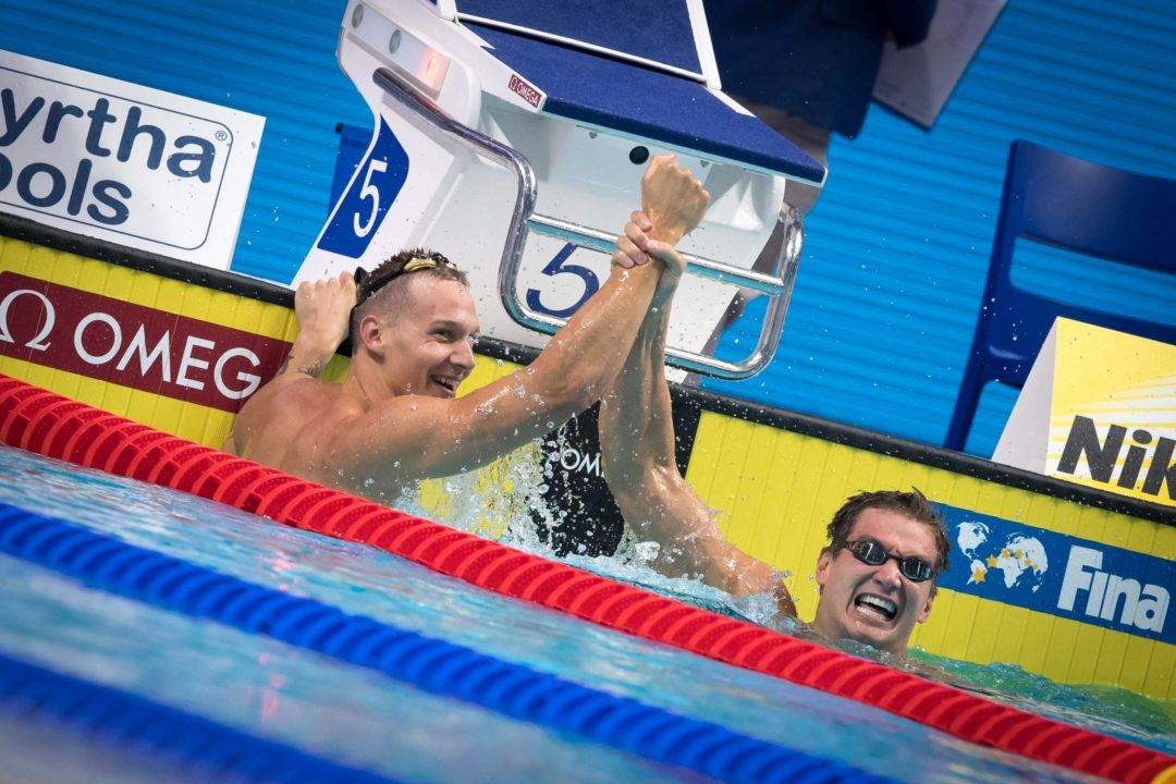 Day 7 Relay Lineups: Dressel Will Do The Triple In Mixed Free