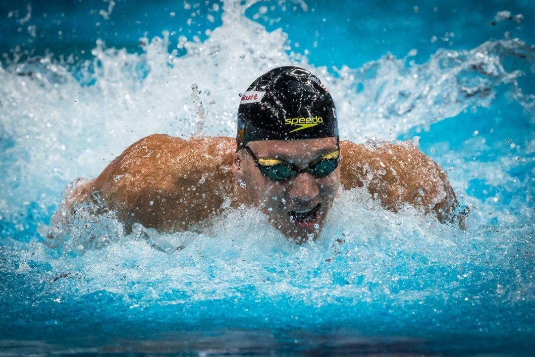 Dressel Nabs 200 Fly Win in Gators' Victory Over FAU
