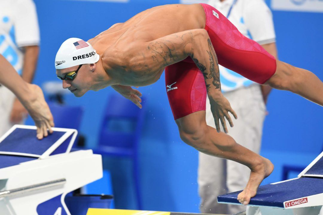 Caeleb Dressel Downs American Record with 22.7 50 fly
