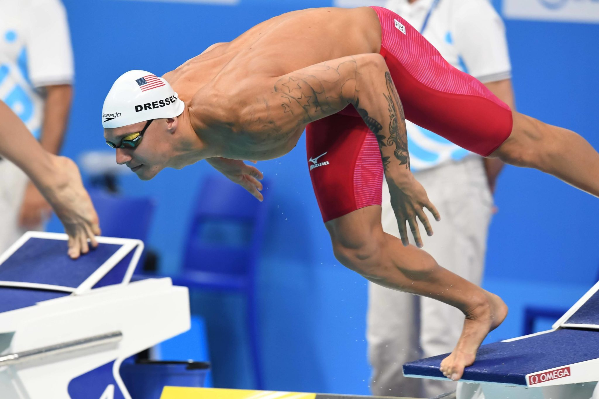 Watch dressel smashes american 50 fly record in semis - Dive recorder results ...
