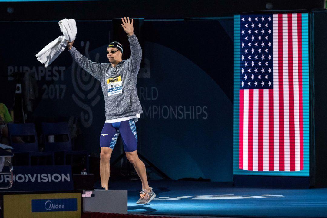 Dressel ausgezeichnet als bester Schwimmer der Weltmeisterschaften