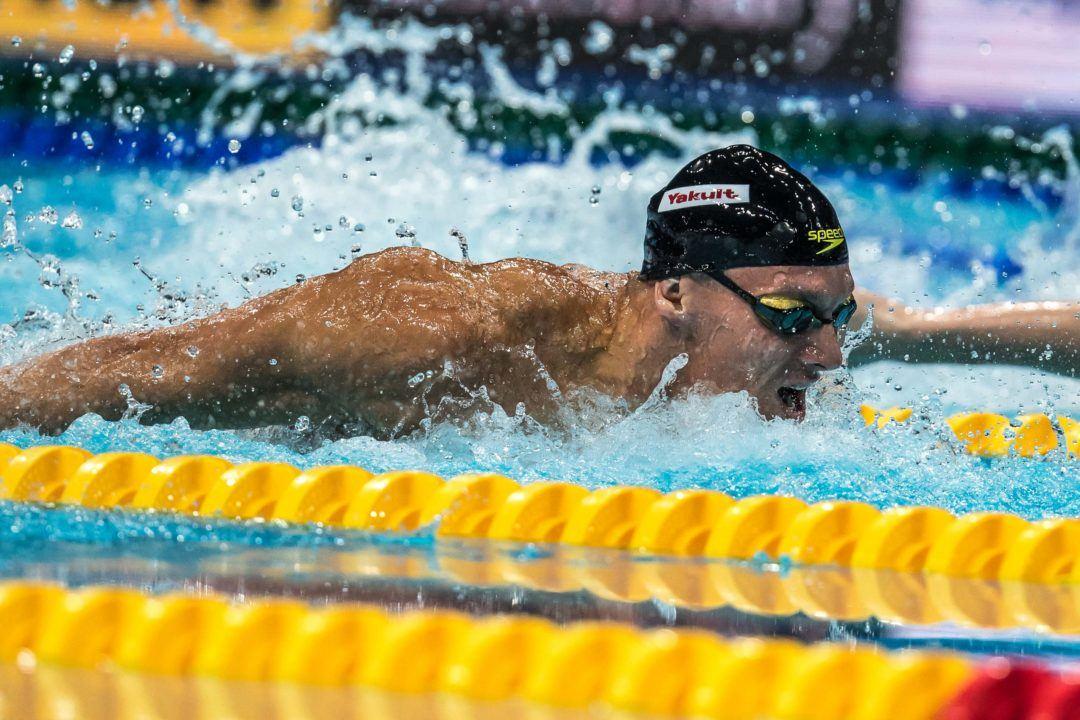 Dressel, nouveau Pape du pap', rejoint Phelps sous les 50 secondes
