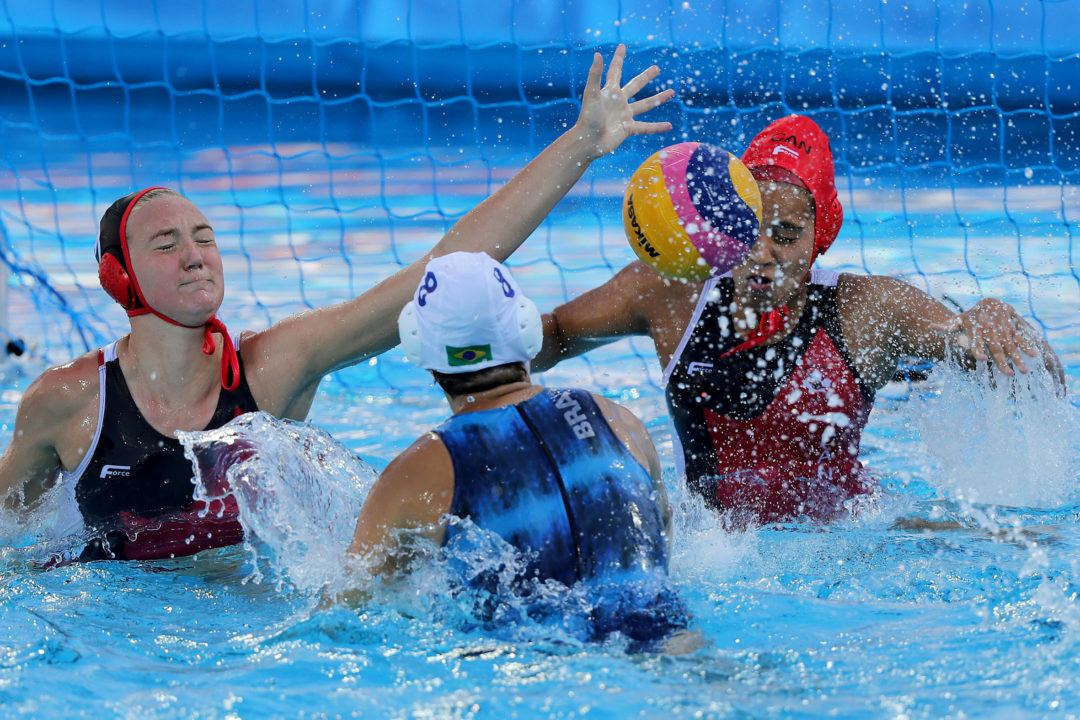Day 3 Women's Water Polo: USA, Greece, Italy and Hungary Lead Groups