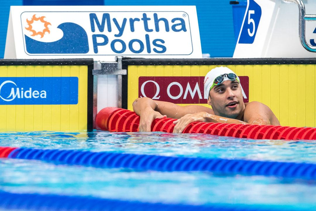 FINA World Cup Berlin: Le Clos Unloads South African 100 Free NR