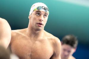 Le Clos Breaks Tie For Men's World Cup Point Lead In Berlin